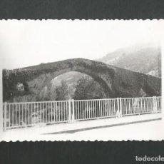 Fotografía antigua: ANTIGUA FOTOGRAFIA CANGAS DE ONIS - ASTURIAS. Lote 194971030