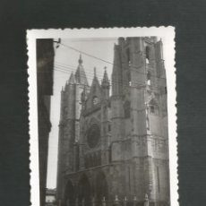 Fotografía antigua: ANTIGUA FOTOGRAFIA LEON. Lote 194971085