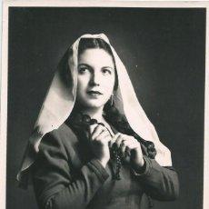 Fotografía antigua: OPERA - SOPRANO MEXICANA IRMA GONZALEZ - FOTO 18X12CM CON AUTÓGRAFO ORIGINAL 1950'. Lote 195040816