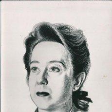 Fotografía antigua: OPERA - SOPRANO ARGENTINA ISABEL MARENGO - FOTO 18X11CM CON AUTÓGRAFO ORIGINAL 1950'. Lote 195041162
