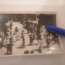 Fotografía antigua: FOTOGRAFÍA VERBENA EN ASTURIAS. Lote 195056576