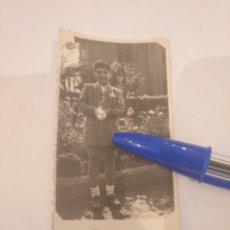 Fotografía antigua: FOTOGRAFÍA NIÑO DE COMUNIÓN. FOTO VEGA. ASTURIAS. Lote 195056997