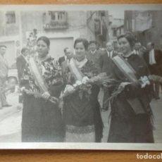 Fotografía antigua: FOTOGRAFIA FIESTAS BORJA, ZARAGOZA. AÑO 1975. REINAS Y AUTORIDADES ALCALDE GUARDIA CIVIL... Lote 195097425