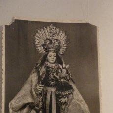 Fotografía antigua: ANTIGUA FOTOGRAFIA.VIRGEN DE LAS VIRTUDES.VILLAMARTIN.CADIZ. AÑOS 40,50. Lote 195177817