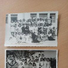 Fotografía antigua: ANTIGUAS FOTOGRAFÍAS ESCOLAR COLEGIO ¿LOS ALCÁZARES? MURCIA. Lote 195179357