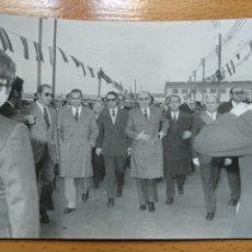 Fotografía antigua: FOTO BORJA ZARAGOZA INAGURACIÓN RESIDENCIA PENSIONISTAS MINISTRO LICIANO DE LAFUENTE, ALCALDE 1972. Lote 195182523
