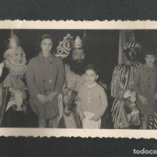 Fotografía antigua: ANTIGUA FOTOGRAFIA REYES MAGOS. Lote 195193096