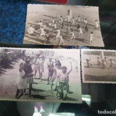 Fotografía antigua: ANTIGUAS FOTOGRAFIAS ACTIVIDADES SECCION FEMENINA EL ALGAR CARTAGENA MURCIA. Lote 195225977