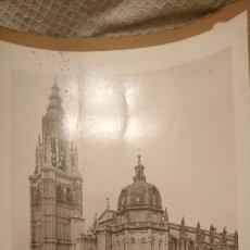 Fotografía antigua: CATEDRAL DE TOLEDO. UNICA. MUY ANTIGUA. MINISTERIO DE INSTRUCCIÓN PUBLICA. Lote 195413112