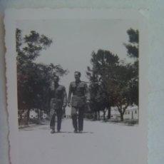 Fotografía antigua: FOTO DE 2 CADETES DE AVICION DE LA ACADEMIA GENERAL DEL AIRE. Lote 195445412
