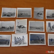 Fotografía antigua: LOTE DE 13 FOTOGRAFIAS PEQUEÑAS -RECUERDO DE EL AAIUN. Lote 195507095