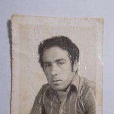 Fotografía antigua: FOTO DE ESTUDIO HOMBRE JOVEN 5CMX4CM. Lote 195597137