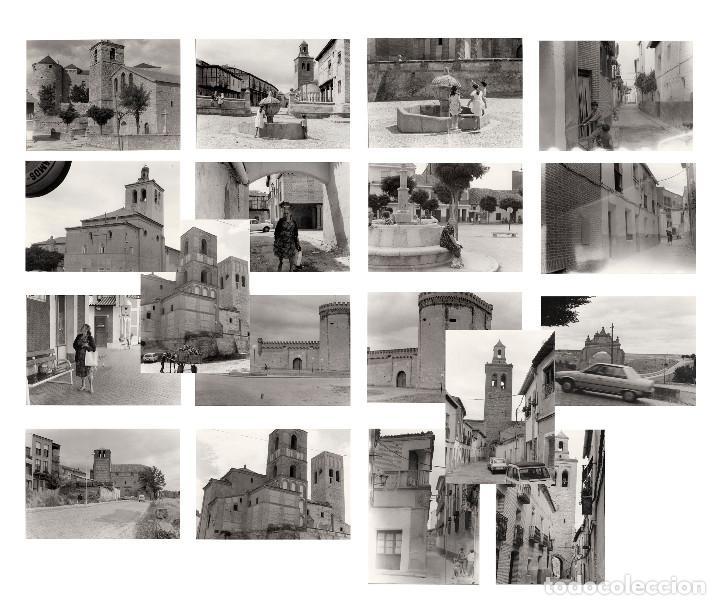 ARÉVALO.(ÁVILA).- LOTE DE 16 FOTOGRAFIAS AÑOS 60.- 9X12,5. (Fotografía Antigua - Fotomecánica)