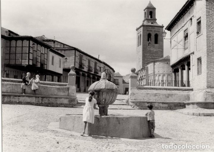 Fotografía antigua: ARÉVALO.(ÁVILA).- LOTE DE 16 FOTOGRAFIAS AÑOS 60.- 9X12,5. - Foto 3 - 195756475