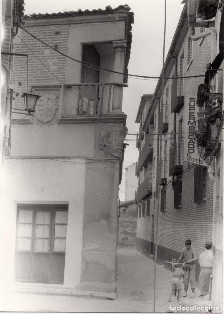 Fotografía antigua: ARÉVALO.(ÁVILA).- LOTE DE 16 FOTOGRAFIAS AÑOS 60.- 9X12,5. - Foto 17 - 195756475