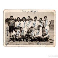 Fotografía antigua: MADRID.- CAMPO DE FUTBOL DE LA ELIPA. 1955. CHAMARTÍN. 10,5X7,5.. Lote 195974252