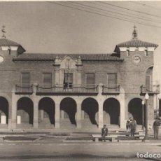 Fotografía antigua: CALAHORRA.(LA RIOJA).- AYUNTAMIENTO, CASA CONSISTORIAL. 23,5X17.. Lote 196005400