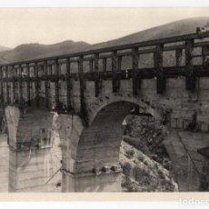 Fotografía antigua: FERROCARRIL.- ZAFRA.(BADAJOZ) A HUELVA. VIADUCTO FRESNO. TRAMO PRIMITIVO. 24X17. Lote 196012833