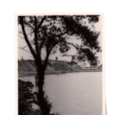 Fotografía antigua: GUIPÚZCOA.- PINTORESCO PAISAJE DE GUETARIA, EN LA COSTA. MARQUES DE SANTA MARIA DEL VILLAR.13X18,5.. Lote 196013720