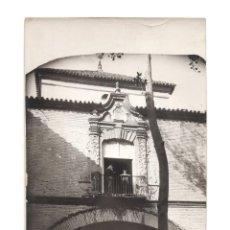 Fotografía antigua: ECIJA.(SEVILLA).- CASA DEL CONDE VALVERDE. 12X16,5.. Lote 196112322
