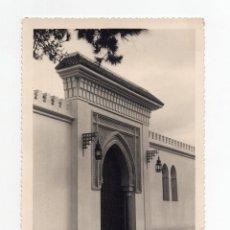 Fotografía antigua: TETUAN.- PALACIO DEL MONTE DE TAGER. ENTRADA. FOTO G. CORTES.12,5X17,5.. Lote 196115013