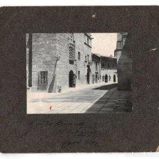 Fotografía antigua: BARCELONA.-PUEBLO ESPAÑOL. CAFÉ DE CABALLEROS. EXPOSICIÓN INTERNACIONAL. 26X23,5.. Lote 196880817