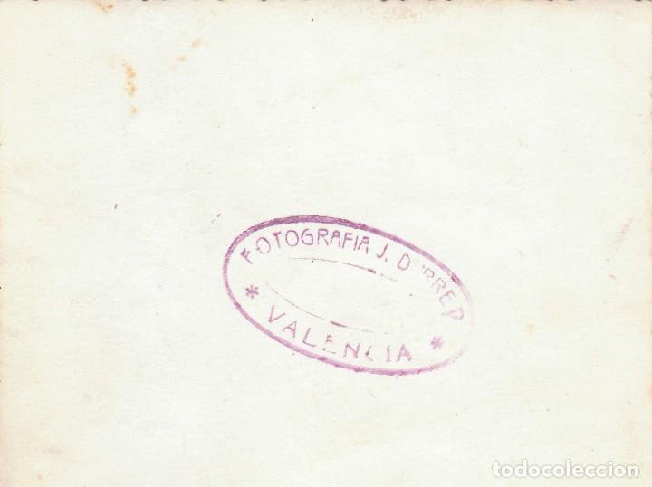 Fotografía antigua: Antigua foto de orla universitaria. Facultad de Derecho de Valencia, 1948 Derrey md - Foto 2 - 196948293