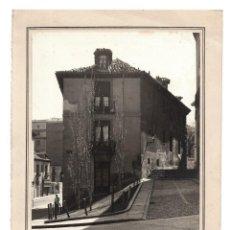 Fotografía antigua: MADRID.- CALLE SEGOVIA.- 14,5X19,5. FOTO FERLOSA.. Lote 197056855