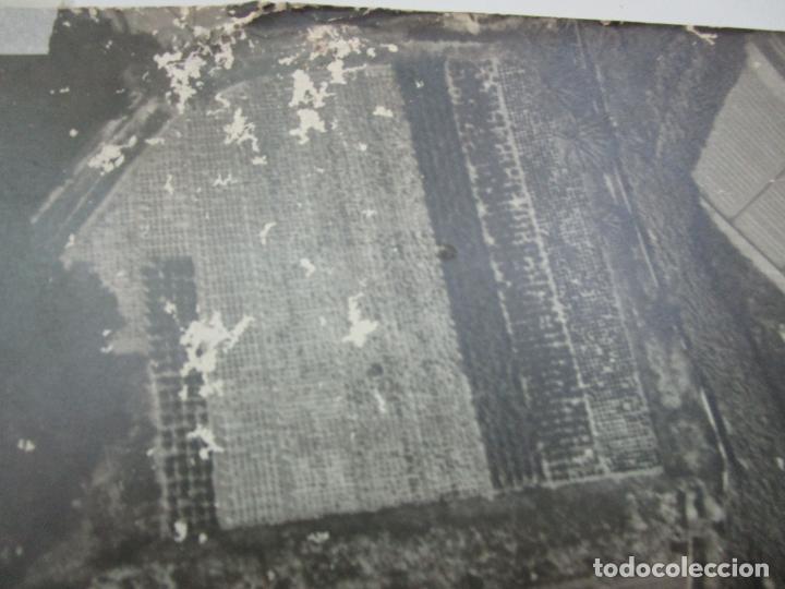 Fotografía antigua: Gran Fotografía Aérea - Cartografía - Peaje Montgat - Primera Autopista de Peaje de España -Año 1969 - Foto 8 - 197501882