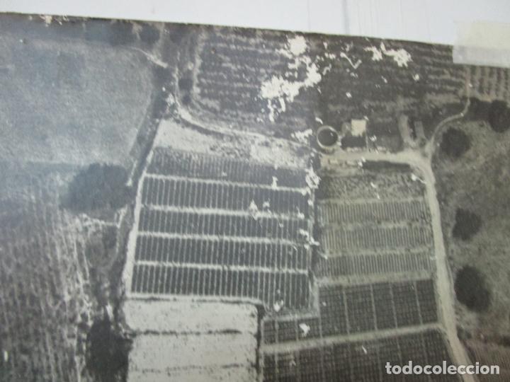 Fotografía antigua: Gran Fotografía Aérea - Cartografía - Peaje Montgat - Primera Autopista de Peaje de España -Año 1969 - Foto 10 - 197501882