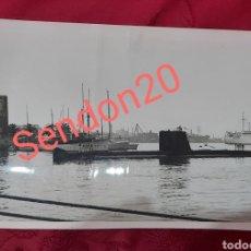 Fotografía antigua: FOTOGRAFIA 1964 SUBMARINO J.A SAENZ GUERRERO PARA DIARIO DE BARCELONA. Lote 197845647