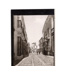 Fotografía antigua: TALAVERA DE LA REINA.(TOLEDO).- CALLE SAN FRANCISCO. 9X13.. Lote 198532353
