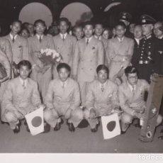Fotografía antigua: NAZI JAPANS STUDENTENSPORTLER IN BERLIN OLYMPIASTADION WW2 WORLD WAR. 18*13CM PRESS FOTO JAPON CH. Lote 199221533
