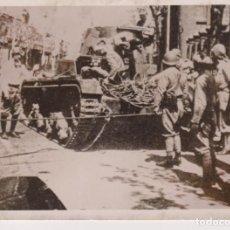 Fotografía antigua: MALAYSIA MALAYA JAPANER ERBEUTEN BRITENPANZER WW2 WORLD WAR. 18*13CM PRESS FOTO JAPON CHINE CHIN. Lote 199221633
