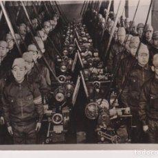 Fotografía antigua: WW2 WORLD WAR ZUM OSTASIEN MARINE NACHWUCHS YOKOSUKO MARINE KORPS JAPAN 18*13CM PRESS FOTO JAPON. Lote 199221810
