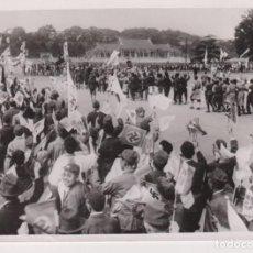 Fotografía antigua: WW2 WORLD WAR DEUTSCH ITALIENISCHE JAPANISCHE BÜNDNIS TOKIO NAZI 18*13CM PRESS FOTO JAPON CHINE CH. Lote 199221865