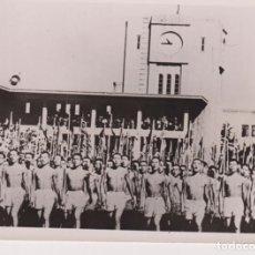 Fotografía antigua: WW2 WORLD WAR KADETTEN KAISERLICHEN JAPANISCHEN SCHULE TURNÜBUNGEN TOKIO NAZI 18*13CM PRESS FOTO JAP. Lote 199221896