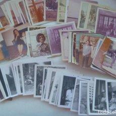 Fotografía antigua: LOTE DE 100 FOTOS FAMILIARES DE FORMATO 9 X 9 CM, BLANCO Y NEGRO Y COLOR. Lote 201203717