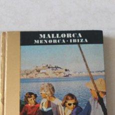 Fotografía antigua: LIBRILLO DE FOTOS DE MALLORCA, MENORCA E IBIZA 1965. Lote 203017885
