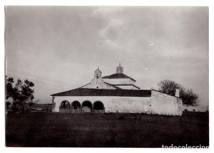 ALMOHARÍN.(CÁCERES).- ERMITA SOPETRÁN Y EL INFANTE ALÍ MAIMÓN. 12,5X9 (Fotografía Antigua - Fotomecánica)