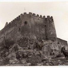 Fotografía antigua: VALENCIA DEL VENTOSO.(BADAJOZ).- CASTILLO. FORTALEZA. 12,5X9. Lote 204055070