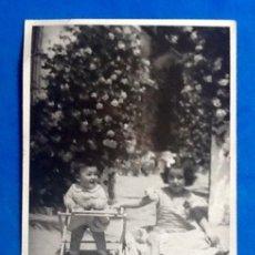Fotografía antigua: FOTO ANTIGUA NIÑOS.ENVIO INCLUIDO.. Lote 204383651