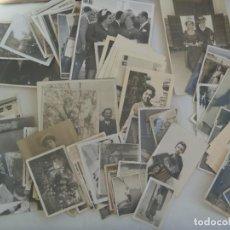 Fotografía antigua: LOTE DE 100 FOTOS DE SEÑORAS Y SEÑORITAS . LAS MAYORES 12 X 18 CM.... MUCHAS ROTAS Y PEGADAS !!. Lote 70449693