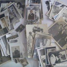 Fotografía antigua: LOTE DE 100 FOTOS FAMILIARES : DISTINTOS TEMAS , TECNICAS Y EPOCAS... Lote 53513719