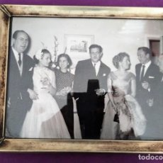 Fotografía antigua: FOTOGRAFIA ORIGINAL DE CARMEN SEVILLA CON FRANK SINATRA. Lote 204783838