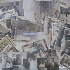 Fotografía antigua: LOTE DE 100 FOTOS : DISTINTOS TEMAS , FORMATO Y EPOCAS. Lote 75103715
