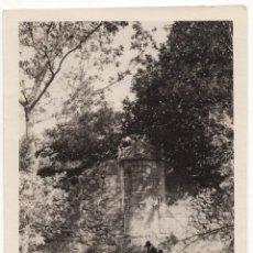 Fotografía antigua: CUACOS DE YUSTE.(CÁCERES). MONASTERIO DE YUSTE. ESCUDO IMPERIAL DE CARLOS V. 12X8,5.. Lote 205532357