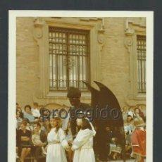 Fotografía antigua: *EL CHICHONES. EL DEMONIO. PROCESIÓN DEL DOMINGO DE RESURRECCIÓN. SEMANA SANTA. ABRIL 1971. MURCIA.. Lote 205864492