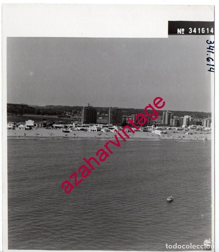 LA ANTILLA,HUELVA, ANTIGUA FOTOGRAFIA,VISTA AEREA PAISAJES ESPAÑOLES,128X178MM (Fotografía Antigua - Fotomecánica)