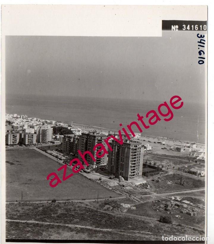 LA ANTILLA,HUELVA, ANTIGUA FOTOGRAFIA,VISTA AEREA, PAISAJES ESPAÑOLES,128X178MM (Fotografía Antigua - Fotomecánica)